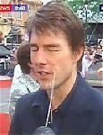 Tom Cruise atacat cu apa