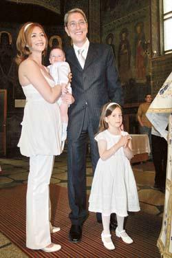 Petru Matei Zaharescu a fost botezat de trei preoti, Life style,Stiri VIP,Noutati Vedete