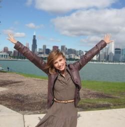 Dana Rogoz i-a cucerit pe romanii din Chicago, Life style,Stiri VIP,Noutati Vedete