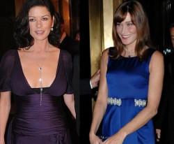 Cine e mai stilata: Carla Bruni sau Catherine Zeta-Jones?, Life style,Stiri VIP,Noutati Vedete